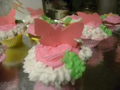 Cupcakes with butterfly's