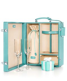For the bastion of bubbly, we've listed the top luxury accessories to make any champagne-sipping experience something to toast about. Pictured: Champagne case, Tiffany.