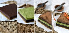 Amazing!! Raw food peppermint, pistachio and chocolate cake. I would love to taste this. http://www.greenkitchenstories.com/birthday-layer-cake-a-la-earthsprout/
