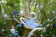TinkerBell-a with glowing butterfly