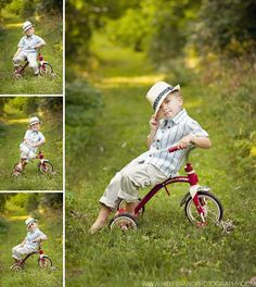 Gatsby kid: Vintage trike, hat, setting. Hillebrand Photography Blog »
