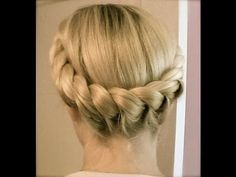 Great tutorial, great choice of background music.  Part 1 Crown Braids: 2 Strands