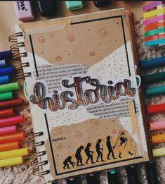 Journal Fonts, Bullet Journal School, Bullet Journal Aesthetic, Bullet Journal Notebook, Bullet Journal Ideas Pages, Bullet Journal Inspiration, Notebook Art, School Notebooks, Pretty Notes