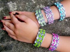 How about making these cool pop top bracelets from a fantastic collection of Homemade gifts for Girls and Women