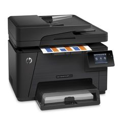 HP LaserJet Pro Wireless Colour All-In-One Laser Printer With Fax . I want this printer to print off essays, assignments, and readings lightning fast! This printer will make things easier as it's super fast! Printer Scanner, Laser Printer, Dubai Shopping, Hewlett Packard, Entry Level, One Color, All In One, Cool Things To Buy, Smartphone