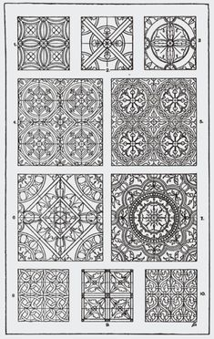 File:Handbook of ornament; a grammar of art, industrial and architectural designing in all its branches, for practical as well as theoretical use Grabar Metal, Quilting Designs, Embroidery Designs, Graph Paper Art, Pattern Library, Illuminated Manuscript, Graphic Design Typography, Repeating Patterns, Islamic Art