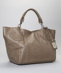 Gray Embossed Tote | Daily deals for moms, babies and kids