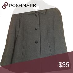 Calvin Klein Pea Coat Great condition!!  Even has the spare button! Jackets & Coats Pea Coats