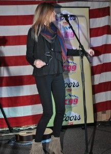 Kelsea Ballerini at Boot Grill in Ft Collins for New From Nashville