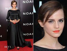 ::perfection::  Emma Watson In Oscar de la Renta - 'Noah' New York Premiere