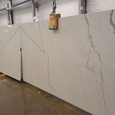Last week we had the arrival of Calacutta Lincoln. It is a new addition to our Italian Marble Collection. It is book matched. We still have some slab left. Call us for samples.