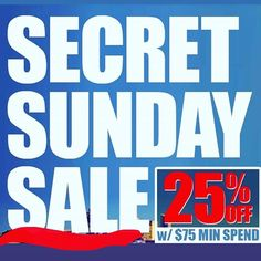 We are open from 12pm-3pm! @zeuscloset #secretsunday #secretsundaysale #sale #zeuscloset