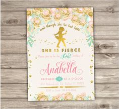 Tiny Dancer Ballerina First Birthday invitations 1st Dance and Twirl girl Tutu Party Pink and Gold Glitter Princess Ballet NV2116 - 2215 by cardmint on Etsy https://www.etsy.com/listing/262426625/tiny-dancer-ballerina-first-birthday