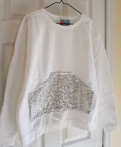 Dream a Little Bigger Craft & DIY Blog - - - Sequin Pocket Top Tutorial