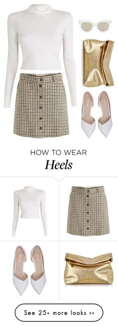 """""""Untitled #6329"""" by heynathalie on Polyvore featuring Aubin & Wills, A.L.C., Michael Kors and Quay"""