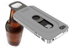 Beer-Friendly Phone Protectors -  The Opena iPhone 4 Case is Your New Drinking Buddy #iphone #iphonecase #beer