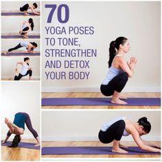 70 Yoga Poses to Tone, Strengthen, and Detox Your Body-wonderfuldiy