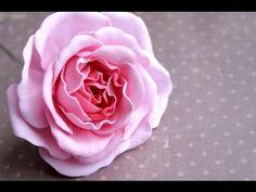 Роза из фоамирана. Обрабатываем лепестки