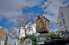 Moulin de la Galette was favored by artists such as Renoir, Van Gogh, Toulouse-Lautrec, and Renoir and writers such as  Zola.  The rent was cheaper and the views incredible for the artists.