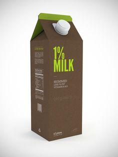 Milk Carton Concept 2  by Guilherme Salum Sep 3, 2011