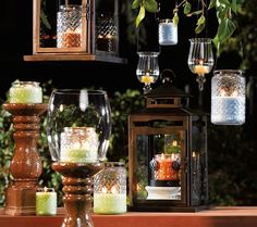 gold canyon candles, lanterns - Google Search