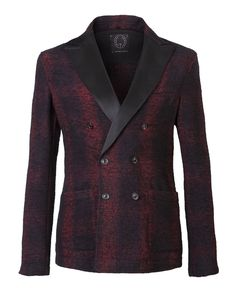 """T-Jacket AW 2016-2017 Double-Breasted """"Grated Red"""". Discover the new collection on www.tonello.net"""