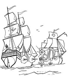 pirate coloring page printables pirate ship coloring page fantasy