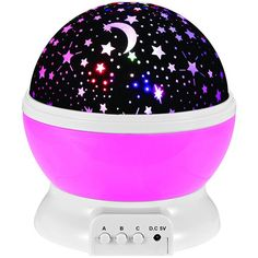 Only $9.93 for Autorotation LED  Babysbreath Starry Sky Night Light