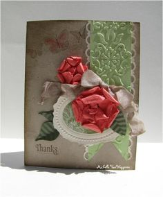 61 best stampin up paper flowers punch art images on pinterest stampin up paper flowers michelle vanwiggeren mightylinksfo