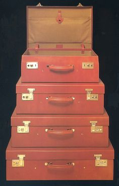 Took home my grandparents' monogrammed vintage suitcases this wkd. Use TBD...
