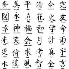 more japanese characters - Google Search