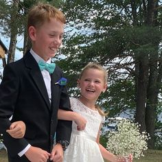 He was not impressed that he had to walk with his sister! Girls Dresses, Flower Girl Dresses, Behind The Scenes, Wedding Dresses, Flowers, Fashion, Dress Wedding, Dresses Of Girls, Bride Dresses