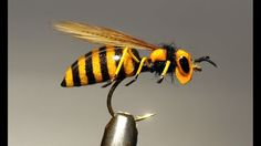 Perennially FLOATING Foam body Realistic WASPfly (very simple)