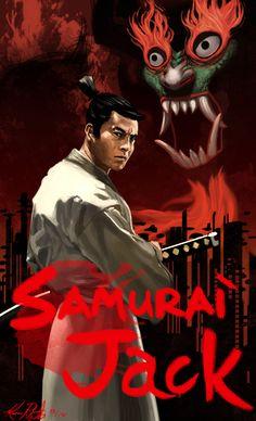 Samurai Jack starring Toshiro Mifune by Lalilulelo2003.deviantart.com