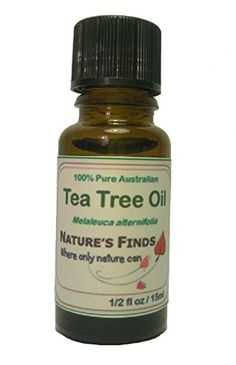 Tea Tree Oil Pure Australian Essential Oil 15ml - Antifungal, Antiseptic. Fantastic for Acne, Warts, Lice, Boils, Fungal Toe Nails, Cold Sores, Thrush, Dandruff and Dog Fleas. Use in a Diffuser-Massage-Aromatherapy-Clear Blocked Heads