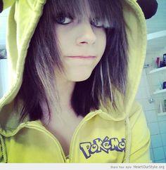 Pika ^~^ - Heart Our Style - emo Nom pic pika pikachu scene scenegirl smile swedengirl