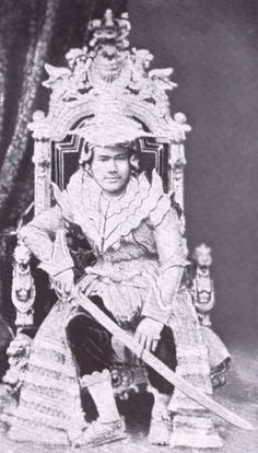 King Thebow, last king of Burmese