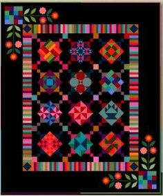 Amish With a Twist I is a modern interpretation of classic Amish quilts and blocks. Designed with the beginner in mind this 5-part block-of-the-month quilt takes you step by step through basic sewing techniques.