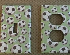 Check out our soccer selection for the very best in unique or custom, handmade pieces from our shops. Soccer Boys, Switch Plate Covers, World Cup 2014, Handmade, House, Etsy, Hand Made, Home, Homes