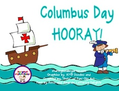Christopher Columbus Unit (Integrates Math and Reading) Kindergarten Social Studies, Teaching Social Studies, First Grade Activities, Literacy Activities, School Themes, School Ideas, Teaching Calendar, Columbus Day, Teacher Resources