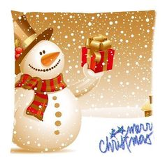 Comfortable Flannel Merry Christmas Custom Zippered Square Pillowcase 18×18 (one side) Cushion Cover Case Pillow18-898 (18, multicolor) Looking bedroom  inspiration?  http://aluxurybed.com/product/comfortable-flannel-merry-christmas-custom-zippered-square-pillowcase-18x18-one-side-cushion-cover-case-pillow18-898-18-multicolor/