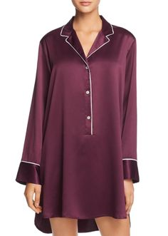 Why can't we all just agree to look runway-ready around the clock? After seeing our fave luxury sleepwear picks, you might just get on board. Cute Sleepwear, Sleepwear Sets, Sleepwear Women, Pajamas Women, Pajama Pattern, Night Dress For Women, Nightwear, Women Lingerie, Stylish Outfits