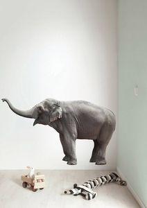 Safari Friends - Elephant XL muursticker