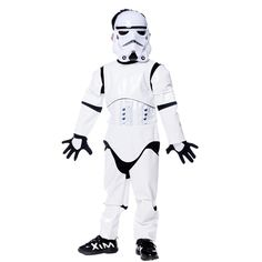 Shanghai story New Child Deluxe Star Wars The Force Awakens Storm Troopers Halloween Costume Kids Cosplay Party Fancy Dress-in Clothing from Novelty & Special Use on Aliexpress.com | Alibaba Group