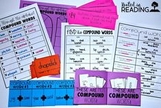 Compound Words for T