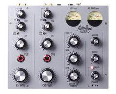 MasterSounds Radius 2 rotary — a tiny slice of analogue mixer - http://djworx.com/mastersounds-radius-2-rotary/