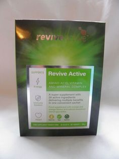 Revive Active Health Food Supplement - 30 Day Supply Vitamins And Minerals, Amino Acids, Active Ingredient, 30 Day, Health And Beauty, Food, Essen, Meals, Yemek