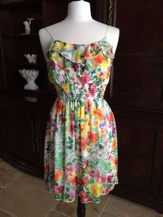 Beautiful, Floral Sundress for Spring & Summer by Body Central #BodyCentral #Sundress