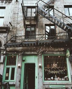 Old Montréal, Canada.