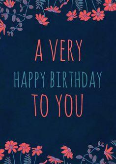Stoere verjaardagskaart in trendy & kleurrijke letters. De binnenkant is ook ontworpen en is aan te passen naar eigen smaak. Hiep Hiep Hoera!